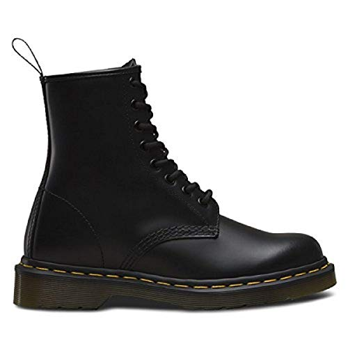 Dr. Martens 1460 8 Eye Boot, Black Greasy, 13 UK/Men's 14, Women's 15 US