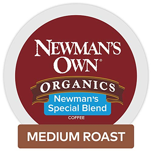 Newman's Own Newmans Own Organics Special Blend Keurig Single-Serve K Cup Pods, Medium Roast Coffee, 48Count, Special Blend, 48Count