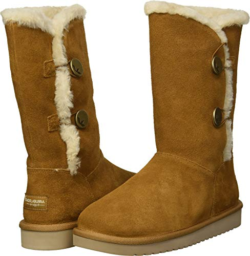 Koolaburra by UGG Women's W KINSLEI Tall Fashion Boot, Chestnut, 06 Medium US