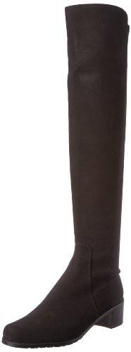 Stuart Weitzman Women's Reserve Boot,Black/Black,7 M US