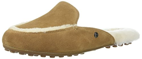 UGG Women's Lane Slipper, Chestnut, 5 M US