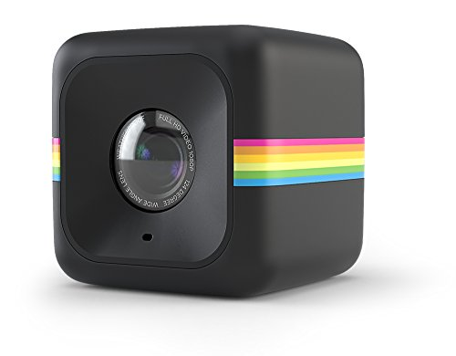 Polaroid Cube Act II HD 1080P Mountable Weather-Resistant Lifestyle Action Video Camera (Black) 6MP Still Camera w/ Image Stabilization, Sound Recording, Low Light Capability & Other Updated Features