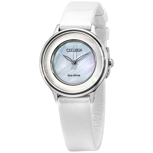 Citizen Circle of Time Eco-Drive Movement MOP Dial Ladies Watch EM0381-03D