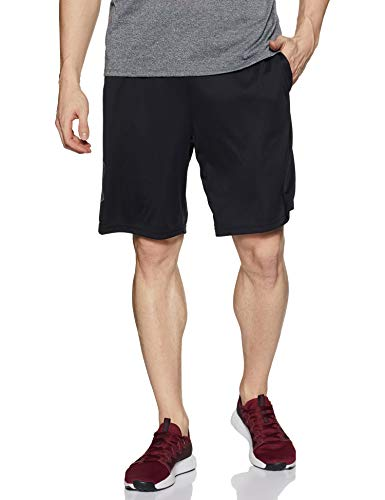 Under Armour Men's Tech Graphic Shorts , Black (001)/Graphite, Small