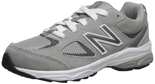 New Balance Boys' 888v2 Running Shoe, Grey/Grey, 2 XW US Infant