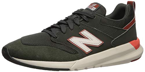New Balance Men's 009 V1 Sneaker, Defense Green/Rifle Green, 7 D US