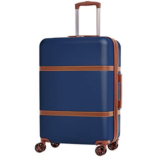 AmazonBasics 硬壳万向轮行李箱24寸