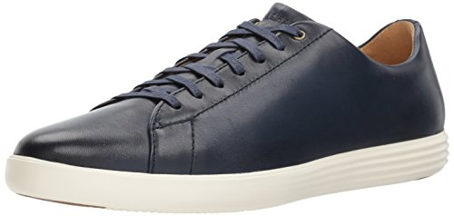 Cole Haan Men's Grand Crosscourt II Sneaker, navy leather burnished, 8 Medium US