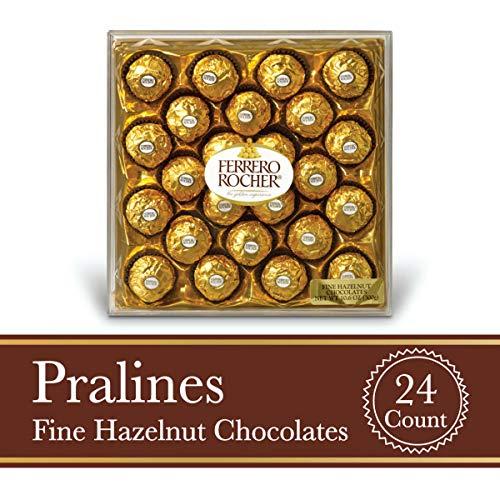 Ferrero Rocher 榛仁巧克力球礼盒 24颗装
