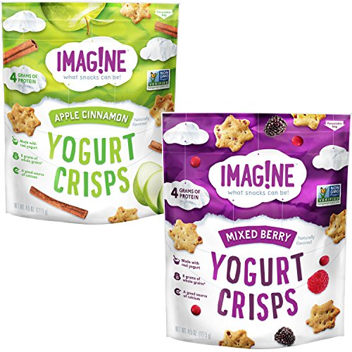 Imag!ne Variety Pack, Yogurt Crisps, 4 Count