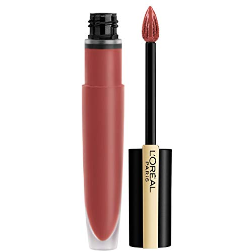 L'Or�al Paris Makeup Rouge Signature Matte Lip Stain, Weightless, High Pigment Lasting Color, I Lead, 0.23 oz.
