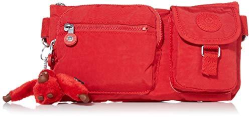 Kipling Women's Presto Convertible Waistpack Waist Pack, Cherry Tonal, One Size