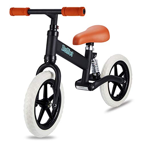 PELLIOT Balance Bike-12 Wheels Light Weight No-Pedal Toddlers Walking Bicycle for Children Age 3-6