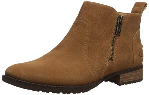 UGG Women's AUREO II Ankle Boot, Chestnut, 6.5 M US