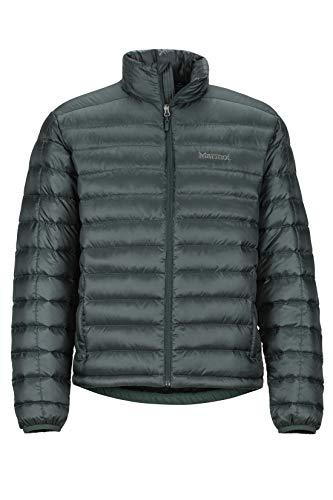 Marmot Men's Lightweight, Water-Resistent Zeus Jacket, 700 Fill Power Down, Dark Spruce, Medium