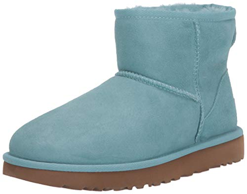 UGG Women's Classic Mini II Fashion Boot, Blue crush, 6 M US