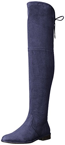 Marc Fisher Women's Mfhumor2 Riding Boot, Deep Baltic, 7 M US
