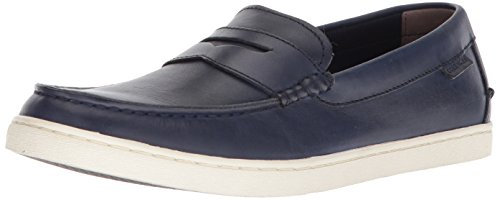 Cole Haan Men's Nantucket Loafer II, Navy Handstain, 9.5 M US