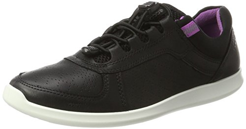 ECCO Women's Sense Toggle Fashion Sneaker, Black, 41 EU/10-10.5 M US