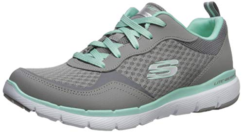 Skechers Women's Flex Appeal 3.0-GO Forward Sneaker, GYMN, 5 W US