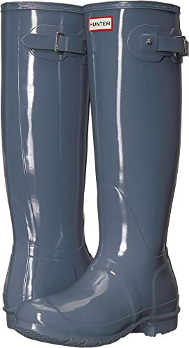 HUNTER Original Tall Gloss Gull Grey 6