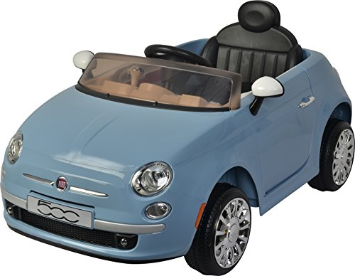 Best Ride On Cars Fiat 500 12V- Blue