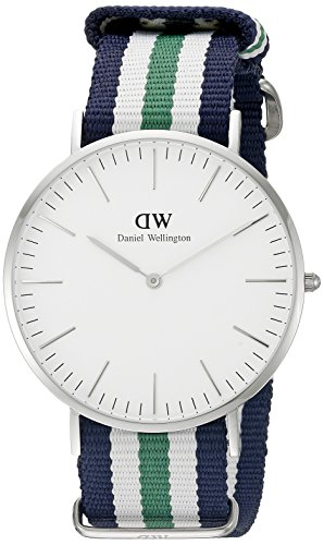 Daniel Wellington Men's 0208DW Analog Display Japanese Quartz Multi-Color Watch