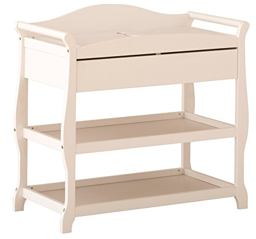 Storkcraft Aspen Changing Table with Drawer, White