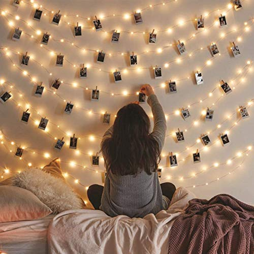 Vont Waterproof Starry Fairy Lights (66FT - 200 LEDs) String Lights for Bedroom Decor & Christmas, USB Powered, Bendable Copper Twinkle Lights, Indoor & Outdoor Use, Lighting for Wall, Patio,Tapestry