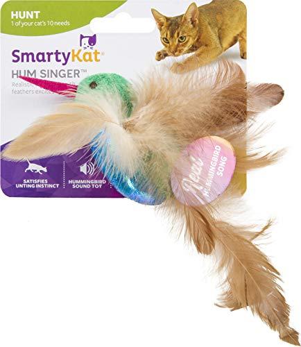 SmartyKat Hum Singer Electronic Sound Cat Toy