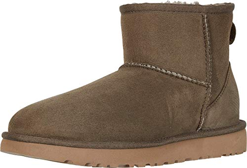 UGG Women's Classic Mini II Fashion Boot, eucalyptus Spray, 5 M US
