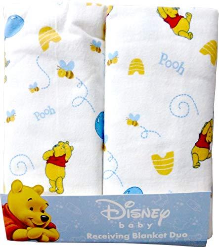 Disney Winnie The Pooh维尼熊儿童Blanket毯子包巾2条装